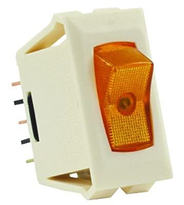 JR Products SPST Illuminated On/Off Switch