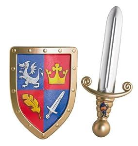 Mike el Caballero - Espada y escudo (Mattel Y8133)