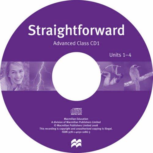 Straightforward Advanced: Class Audio CD