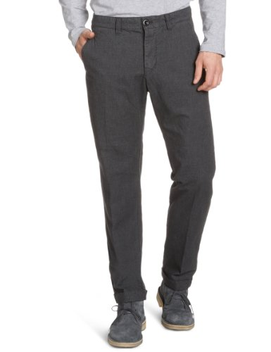 Marc O'Polo Men's 229 0422 10100 Trousers Grey (989 Dark Grey) 54