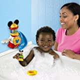 Ultimate Mickey Bath Tub Adventure Playset - Cleva Edition ChildSAFE Door Stopz Bundle