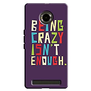 CRAZY IS NOT ENOUGH BACK COVER YU YUPHORIA