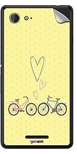 GsmKart SXE3 Mobile Skin for Sony Xperia E3 (Yellow, Xperia E3-634)