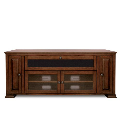 Bell'O PR33 Espresso Finished Audio Video Cabinet for 32-65 Inch Dark Brown picture
