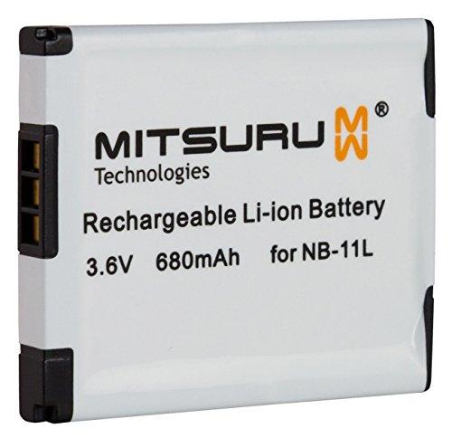 Mitsuru® Akku Ersatz für NB11L NB-11L, passend zu Canon Ixus 125 HS 240 HS