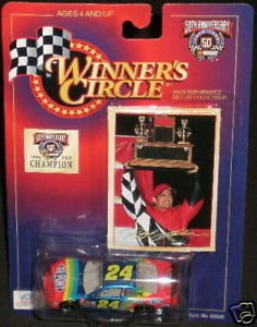 #24 Jeff Gordon 50th Anniversary 1998 Cup Champion - 1
