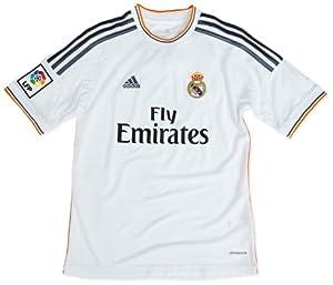 Adidas Real Madrid C.F. - Camiseta de fútbol infantil, 2013-14, 8 años