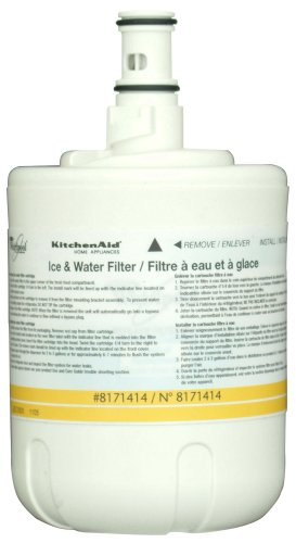 Whirlpool 8171414 KitchenAid Side-by-Side Refrigerator Water Filter, 1-Pack
