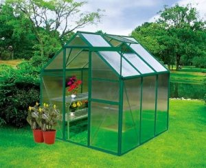 Earthcare Basic 6 x 6 Hobby Greenhouse Kit