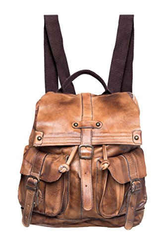 Bed|Stu Jericho Leather Backpack