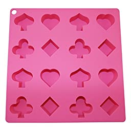 Ice Cube Tray Shapes Silicone Novelty Chocolate Molds Candy Soap Candle Baking Specialty