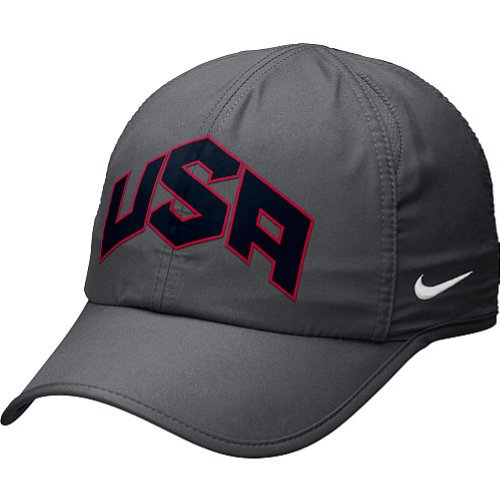 the latest 8914b cbd47 2012 Olympics Nike USA Featherlight Hat - Coal Review