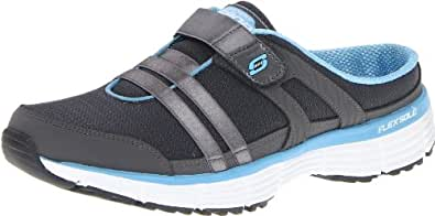 Skechers Sport Women's Kick Back Fashion Sneaker,Charcoal/Blue,6 M US