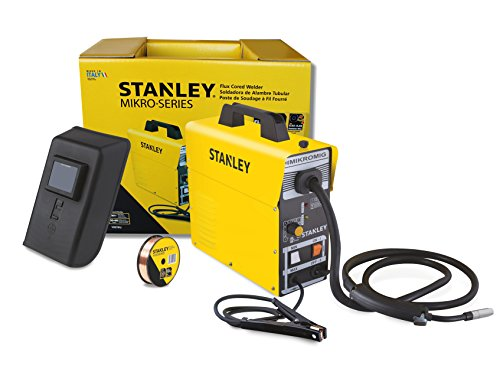 Find Bargain Stanley MIKROMIG 120-volt 80-Amp Flux-Cored Welder, 14.4 x 5.5 x 14.2-Inch, Yellow