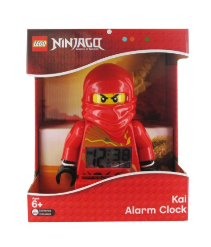 Lego kids 39 9006784 ninjago kai zx minifigure clock - Ninjago kai zx ...
