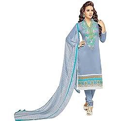 pakiza design new arrival grey chanderi cotton festival party wear salwar suit dress material
