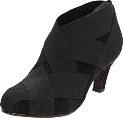 United Nude Women's Helix Mid Ankle Boot,Black,37 EU/7 M US