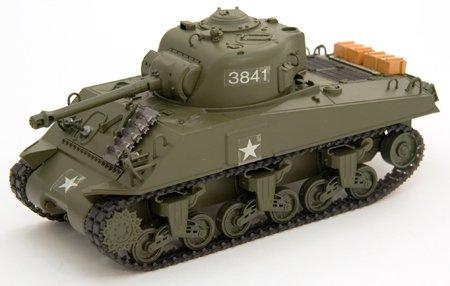 1:30 Scale Remote Control RC M4A3 Sherman Tank