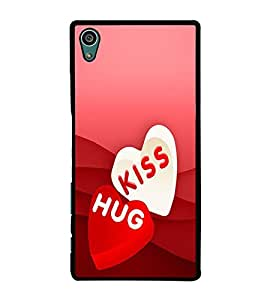 PRINTVISA Abstract Love Case Cover for Sony Xperia Z5