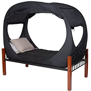 Privacy Pop Bed Tent for Twin XL Bed by Privacy Pop, LLC