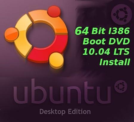 Ubuntu 10.04 64 Bit Intel I386 Install Boot ISO Lucid Lynx LTS