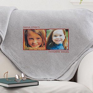 Personalized Picture Blankets