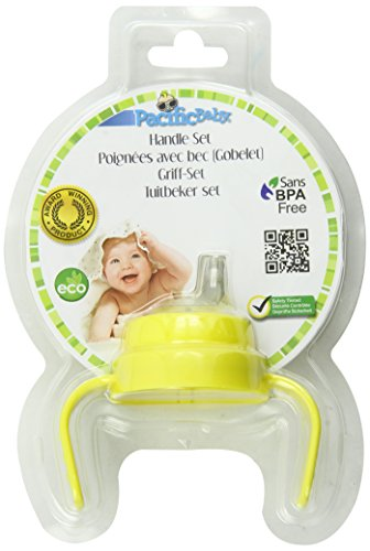 Pacific Baby Baby Bottle Handle Set, Yellow