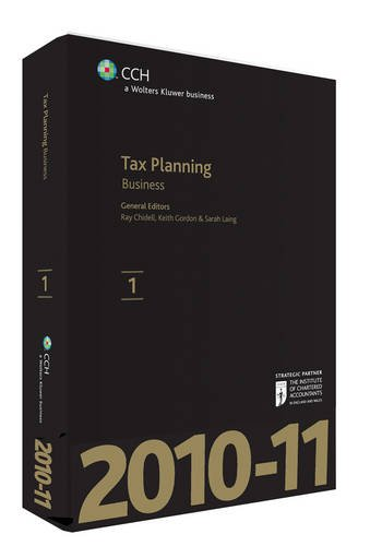 Tax Planning - Business 2010-2011