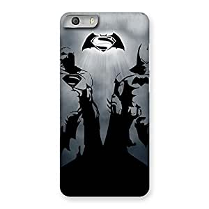 Day Grey Knight Back Case Cover for Micromax Canvas Knight 2