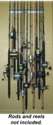 6 Rod Piranha Fishing Rod Rack by PIRANHA