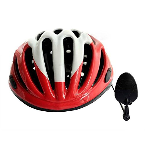 Flammi Bike Bicycle Cycling Helmet Rearview Mirror Flat