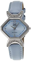 Q & Q Analog Blue Dial Womens Watch - S169-305Y
