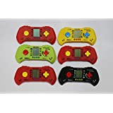 Laxmi Collection (pack Of 6) Hand Video Game For Kids,return Gifts For Kids Birthday Party (for More Gifts Search For Laxmi Collection)