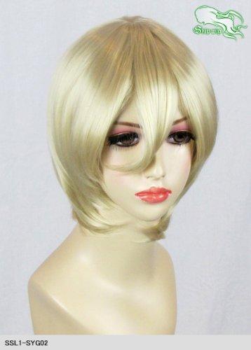 スキップウィッグ 魅せる シャープ 小顔に特化したコスプレアレンジウィッグ マシュマロショート バニラ