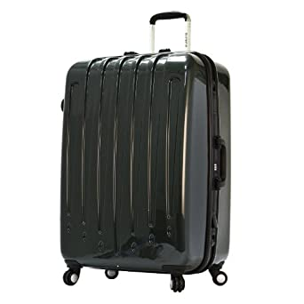 Olympia Luggage Dynasty 25 Inch Rolling Hardcase, Green, One Size
