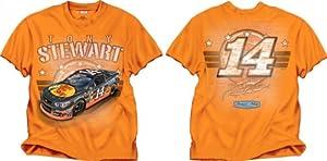 Buy NASCAR Stewart Haas Racing Tony Stewart Bass Pro Orange Youth Speed Boss T-Shirt by Checkered Flag