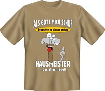 super handwerker t shirt als gott mich schuf brauchte er. Black Bedroom Furniture Sets. Home Design Ideas