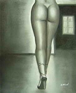 """High Heels Oil Painting on Canvas Hand Made Replica Finest Quality 36"""" X 48"""" from Nachmann's Gallery"""