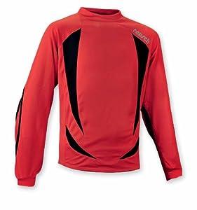 Reusch Adult Vento Long Sleeve GK Jersey, Fiesta Red, Extra Large