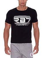 Rivaldi Camiseta Manga Corta Montagni (Negro)