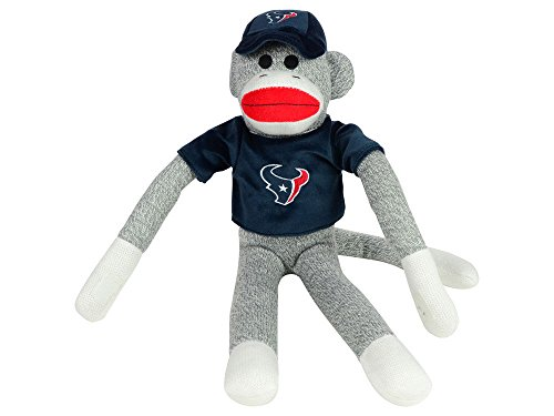 NFL Houston Texans Uniform Sock Monkey at 'Sock Monkeys'