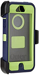 OtterBox Defender Series Case for iPhone 5 ( Not for iPhone 5C or 5S)(Discontinued by Manufacturer) - Blue/Lime Green