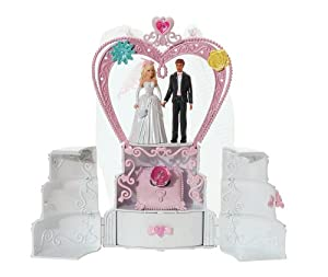 Amazon.com: Barbie The Wedding Cake Playset: Toys & Games