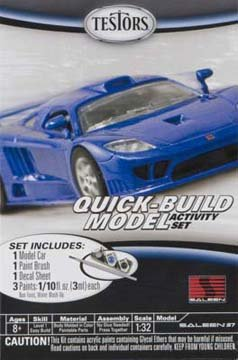 Testors Saleen S7 Quick Build Car Model Kit (1:32 Scale)