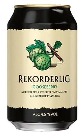 Rekorderlig - Gooseberry Cider 4,5% - 0,33l