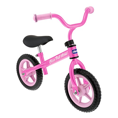 Chicco Arrow Balance Bike Ride On, Pink front-950569