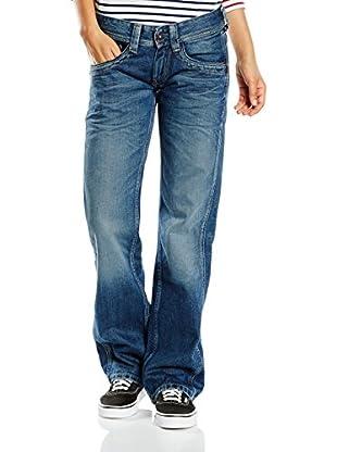 Pepe Jeans London Vaquero Olympia (Azul Denim)