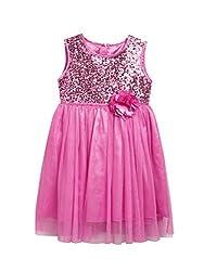 SuperYoung Girls' Pink Dress