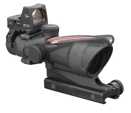 Trijicon Ta31Rmr Acog 4X32 Scope, Dual Illuminated Red Crosshair .223 Ballistic Reticle, 3.25 Moa Rmr Sight