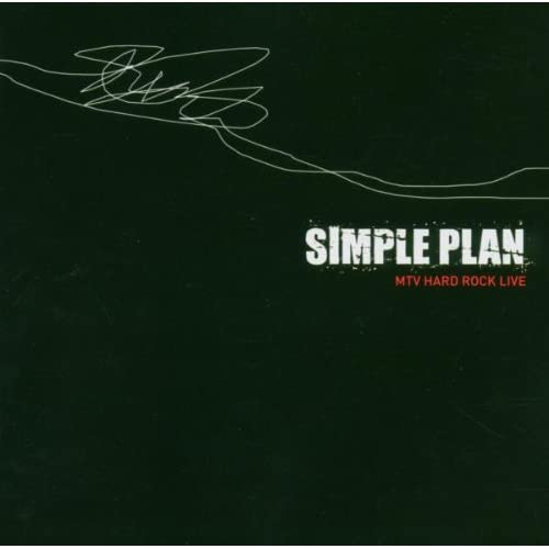 MTV-Hard-Rock-Live-Simple-Plan-Audio-CD